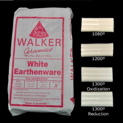 Walkers White Earthenware