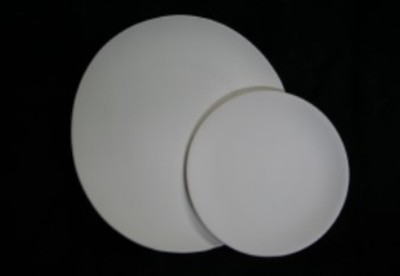 Coupe Dinner Plate #3