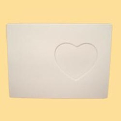 Rectagular Picture Frame with Heart Shaped Opening