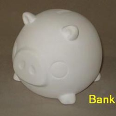 Puffed Pig Bank