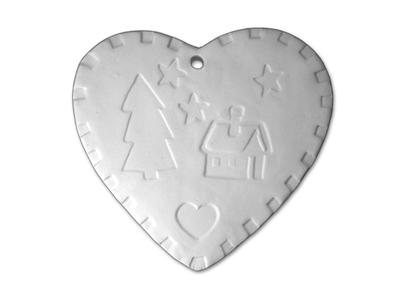 X-Mas Heart Ornament