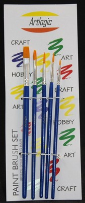 Artlogic Synthetic Brush Set of 5 (Set 2)