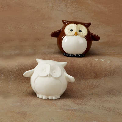 Pudgy Party Pet Owl Bank