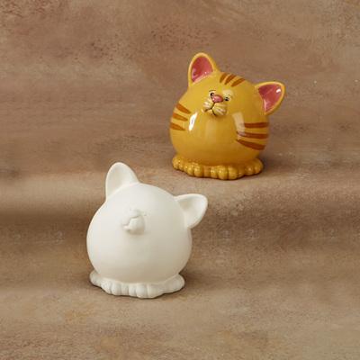Pudgy Party Pet Cat Bank