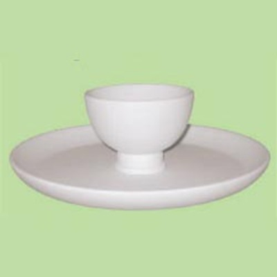 Chip and Dip Server or Cake Stand