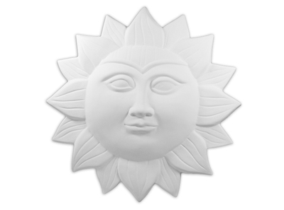 Large Sun Plaque