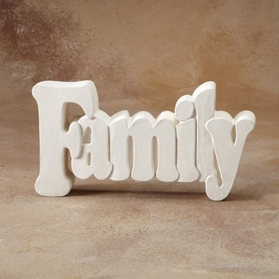 Family Word Plaque