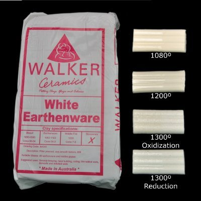 Walkers White Earthenware - 50 to 99 Bags