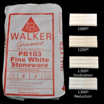 Walkers PB103 Fine White Stoneware