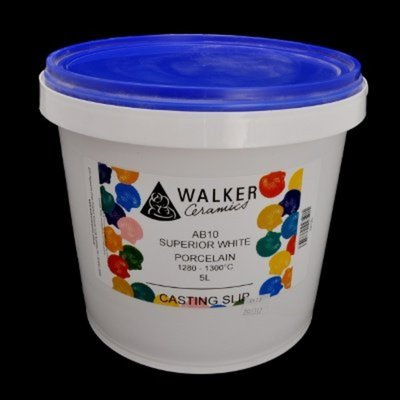 Walkers Superoir White Porcelain Slip