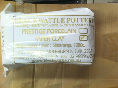 Blackwattle Gold Label Super Fine Porcelain Paper Clay