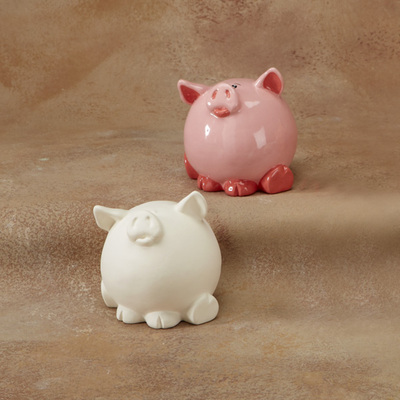 Pudgy Party Pet Pig Bank