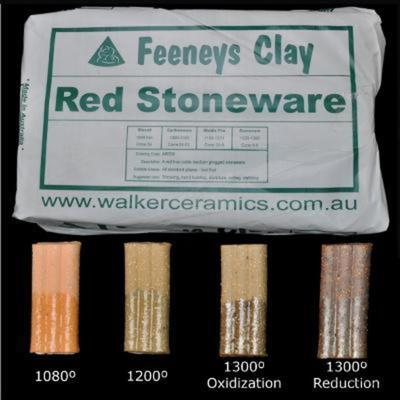 Feeneys Red Stoneware