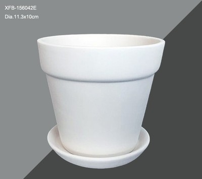 Flower Pot and Dish