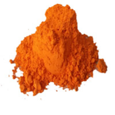 Orange Powder Stain