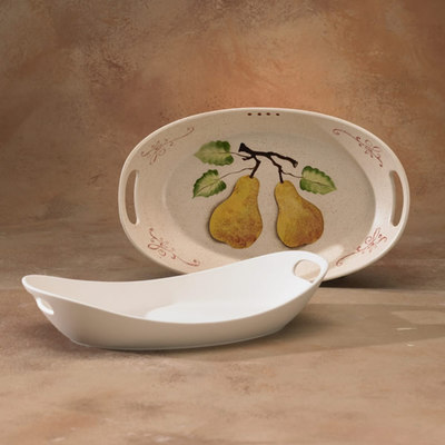 15 Inch Platter With Handles