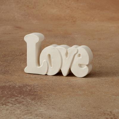 Love Word Plaque