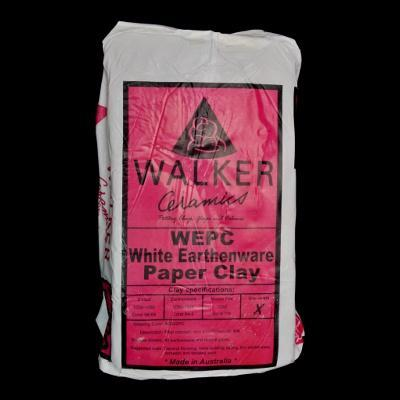 Walkers White Earthenware Paper Clay - 20 Bags+