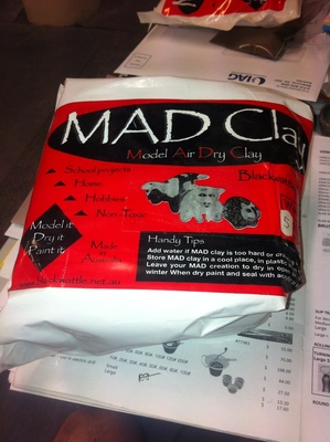 Model Air Dry (MAD) Clay 5kg