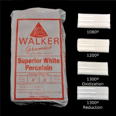 Walkers Superior White Porcelain
