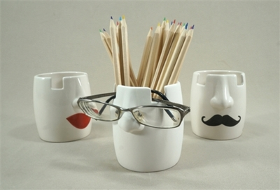 Eyeglass and Pencil Holder