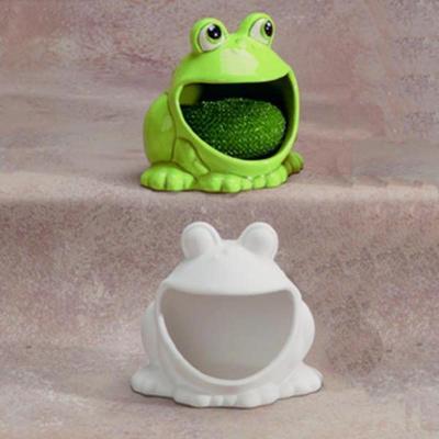 Frog Scrubbie Holder