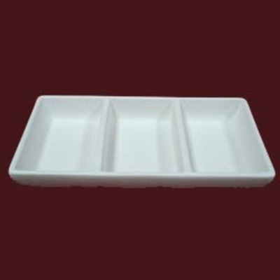 3 Section Dish